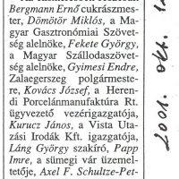 SZIT - Balatonfüredi Szolgáltató Ipartestület 2001