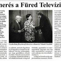SZIT - Balatonfüredi Szolgáltató Ipartestület, Füred TV