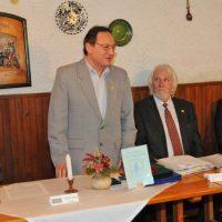 Beneda László SZIT alelnök, Vörös Béla IPOSZ alelnök, Mahler Wolfgang Otto SZIT elnök, dr. Bóka István polgármester